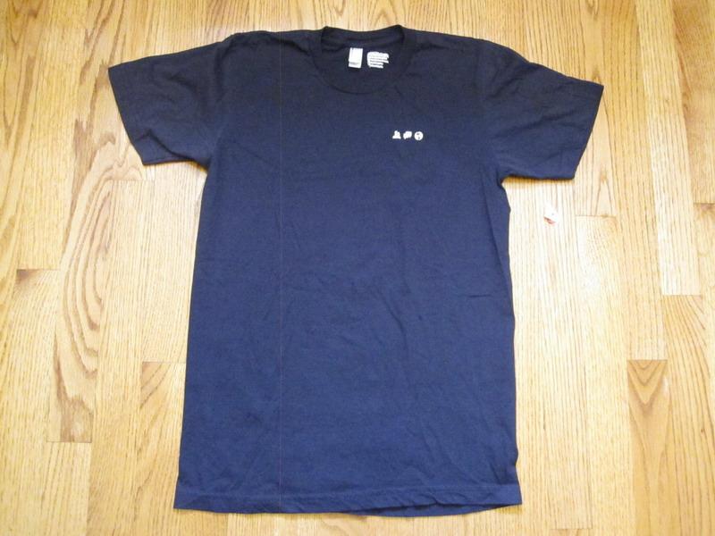 Facebook employee t shirt blue logo salesforce wired sm for Salesforce free t shirt